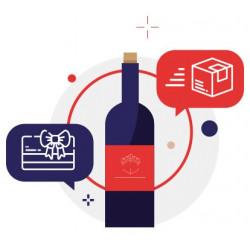 Wine subscription box as a gift