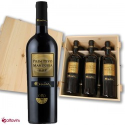 Oro di Eméra Primitivo 2014 6bt in original wooden case