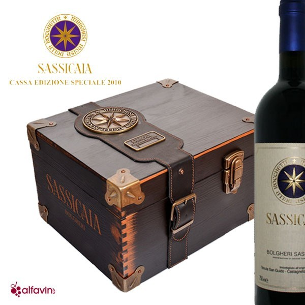 Collector Box 6x Sassicaia 2013