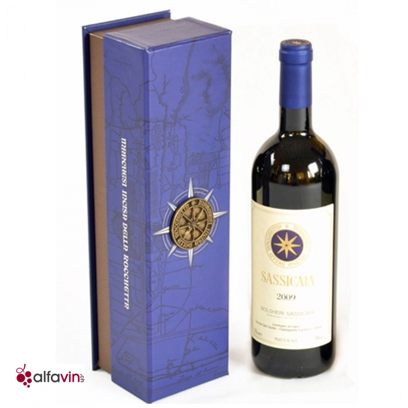 Collector Box Sassicaia 2012