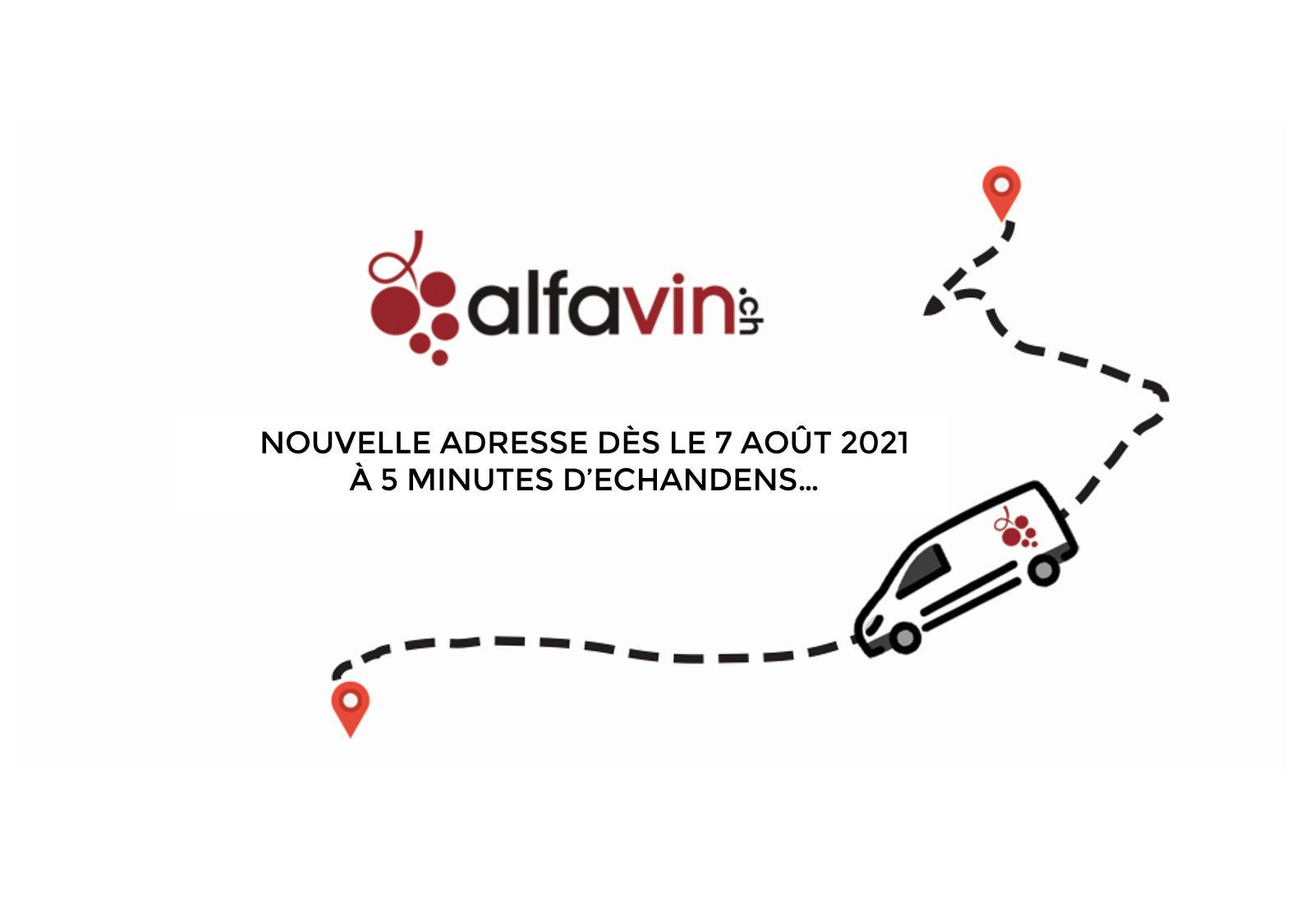 ALFAVIN.CH A DÉMÉNAGÉ